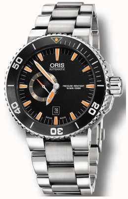 Oris Aquis Small Second Date Automatic Stainless Steel 01 743 7673 4159-07 8 26 01PEB