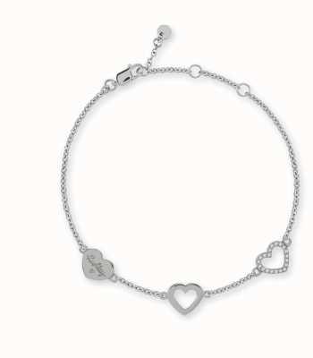 Radley Jewellery Silver Heart Charm Bracelet RYJ3021