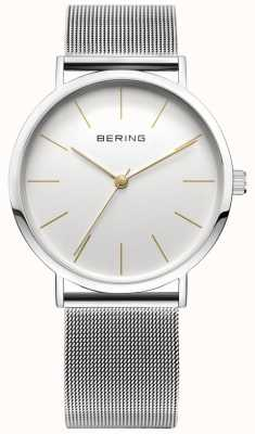 Bering Classic Collection Watch With Mesh Band And Scratch Resista 13436-001