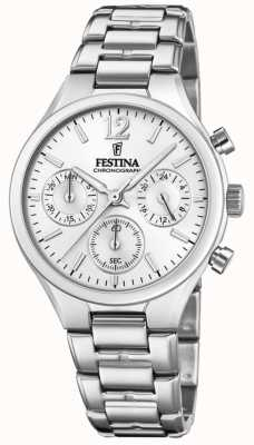 Festina Womens Boyfriend Chronograph Stainless Steel F20391/1