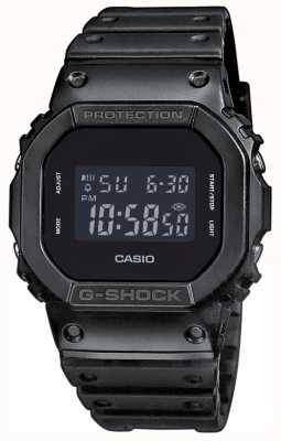 Casio Mens G-Shock Black-out Dial Resin Band DW-5600BB-1ER