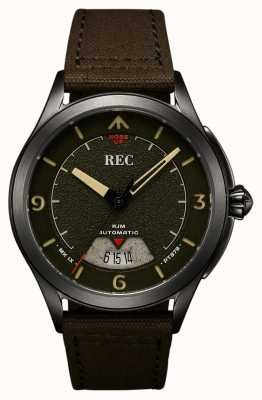 REC Spitfire Automatic Canvas Strap (free strap/notebook) RJM-03