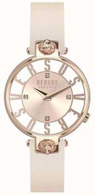 Versus Versace | Womens | Kristenhof | Pink Dial | Pink Leather Strap | VSP490318