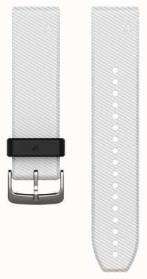 Garmin White Rubber Strap QuickFit 22mm Fenix 5 / Instinct 010-12500-01