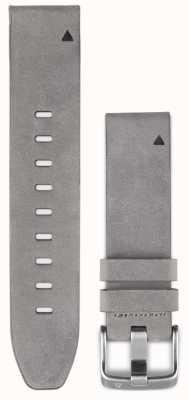 Garmin Gray Suede Leather Strap QuickFit 20mm Fenix 5S 010-12491-16