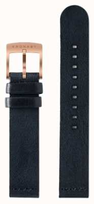 Kronaby 18mm Dark Blue Leather Strap Only A1000-0576