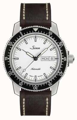 Sinn St Sa I W Classic Pilot Watch Light Brown Calfskin Vintage L 104.012-BL50202002007125401A