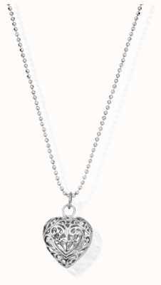 ChloBo Diamond Cut Chain | With Filigree Heart | Pendant SCDC1050