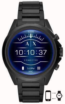 Armani Exchange Drexler Black   Stainless Steel   Smartwatch AXT2002
