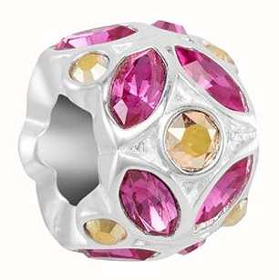 Chamilia Stained Glass | Fuchsia & Metallic Sunshine | Swarovski 2025-2576