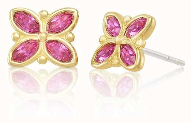 Chamilia | Stained Glass Pink Earrings | 1311-0156