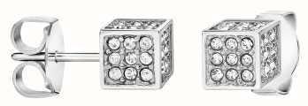 Calvin Klein | Womens Rocking | Silver Earrings | Swarovski Crystal | KJ9CWE040100