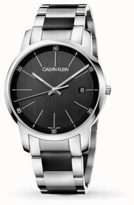 Calvin Klein   Mens City   Two Tone Stainless Steel Bracelet   K2G2G1B1