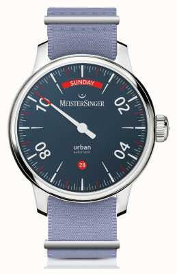 MeisterSinger Urban Day Date | Two-Strap Watch | URDD908