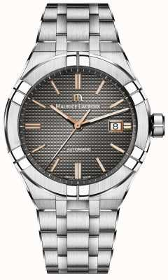 Maurice Lacroix Aikon Automatic Stainless Steel Anthracite Dial AI6008-SS002-331-1
