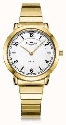 Rotary | Ladies Gold Plated Bracelet | LB00766/18