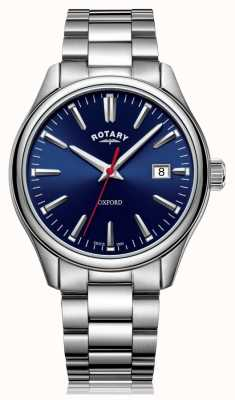 Rotary | Gents Stainless Steel Bracelet | Blue Dial | GB05092/53