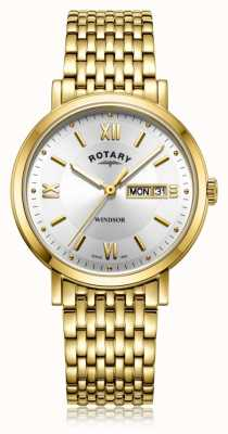 Rotary | Gents Gold Plated Bracelet | GB05303/09
