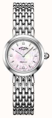 Rotary | Ladies Stainless Steel Bracelet | LB00899/07/D