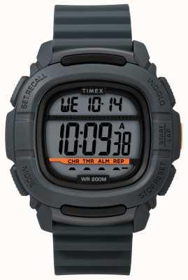 Timex   Boost Shock Grey Digital   Rubber Strap TW5M26700SU