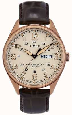 Timex | Waterbury Traditional Day Date Watch | TW2R89200D7PF
