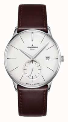 Junghans Meister MEGA Small Second | Dark Brown Leather Strap | 058/4902.00
