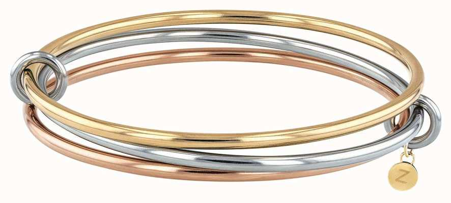 Tommy Hilfiger Womens Three Tone Bangle 2780153