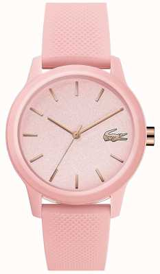Lacoste | Womens 12-12 | Pink Silicone Strap | Pink Dial | 2001065