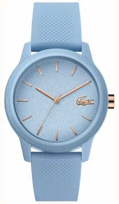Lacoste | Womens 12-12 | Blue Silicone Strap | Blue Dial | 2001066