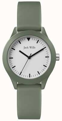 Jack Wills | Ladies Grey Rubber Strap | JW008FGFG