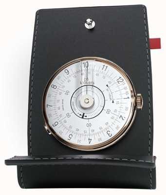 Klokers KLOK 08 White Watch Head Desk & Pocket KLOK-08-D1+KPART-01-C2
