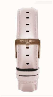 Weird Ape Pink Leather 16mm Strap Rose Gold Buckle ST01-000112