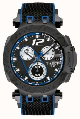 Tissot | Mens T-Race Thomas Luthi 2019 | Black Rubber Strap | T1154173705703