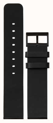 Leff Amsterdam | Black Leather Strap | Black Buckle | LT75012-STRAP