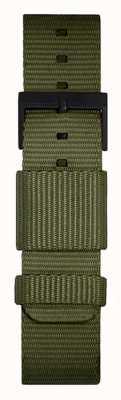 Leff Amsterdam | Green Nato Strap | Black Buckle | LT74032-STRAP