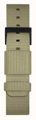 Leff Amsterdam | Grey Nato Strap | Black Buckle | LT75052-STRAP
