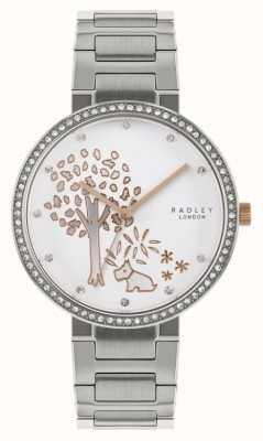 Radley | Womens Stainless Steel Bracelet | Tree Motif Dial | RY4387