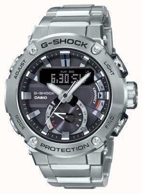 Casio G-STEEL G-Shock Bluetooth Link 200m WR Stainless Steel GST-B200D-1AER