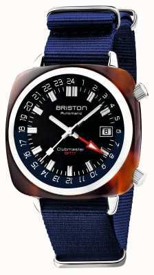 Briston Clubmaster GMT Limited Edition | Automatic | Blue Nato Strap 19842.SA.T.9.NNB