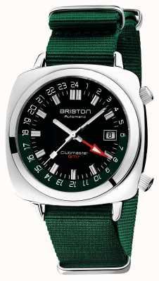 Briston Clubmaster GMT Limited Edition | Auto | Green Nato Strap 19842.PS.G.10.NBG