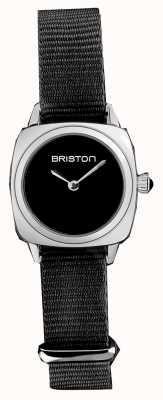 Briston   Clubmaster Lady   Single Black Nato Strap   Black Dial   19924.S.M.1.NB - SINGLESTRAP