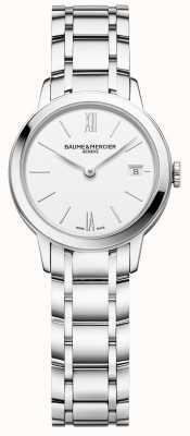 Baume & Mercier | Womens Classima | Stainless Steel Bracelet | White Dial | BM0A10489