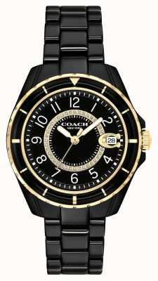 Coach | Womens | Preston | Black Ceramic Bracelet | Black Dial | 14503461