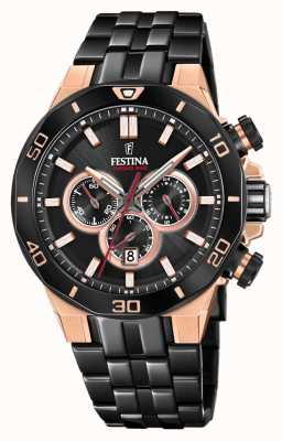 Festina Chrono Bike 2019 Special Edition | Black IP Bracelet F20451/1
