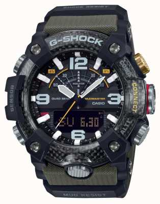 Casio Carbon Core MudMaster | Stopwatch | Bluetooth GG-B100-1A3ER