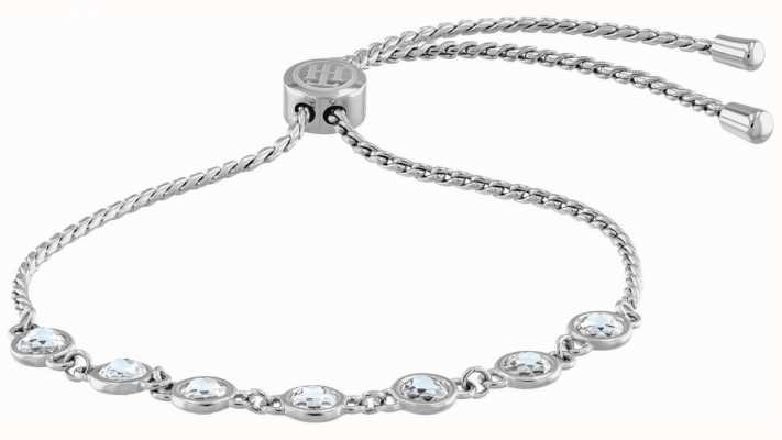 Tommy Hilfiger Classic Signature | Crystal Set Stainless Steel Bracelet 2780225