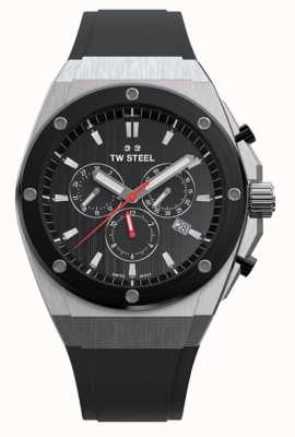 TW Steel | CEO Tech | Limited Edition | Chronograph | Black Rubber | CE4042