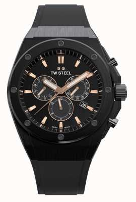 TW Steel | CEO Tech | Limited Edition | Chronograph | Black Rubber | CE4044
