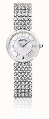 Michel Herbelin | Womens Perle | Silver Bracelet | Mother Of Pearl Dial | 17483/B19
