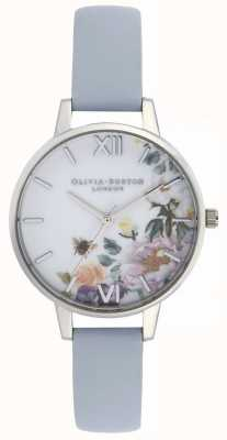 Olivia Burton | Womens | Enchanted Garden | Chalk Blue Strap | OB16EG114